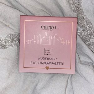 Nude Beach eyeshadow palette + freebies